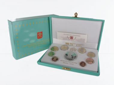 Vatikan original KMS, 2013 PP, + Silbermünze