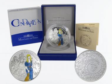 Frankreich 1,5 €  Aschenputtel 2002 PP, Silber