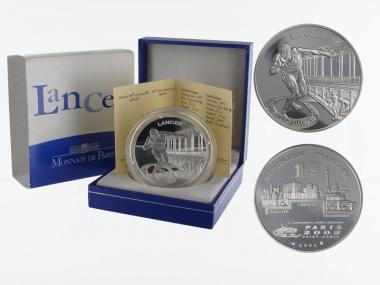 Frankreich 1,5 €  Werfen 2003 PP, Silber
