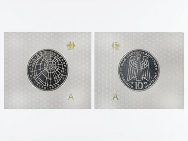 50 J. SOS Kinderdörfer 10 DM Silber, PP