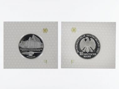 750 J. Katharinenkloster 10 DM Silber, PP
