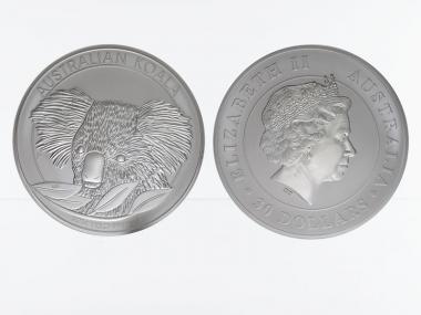 Australien 30$ Koala 2014, 1 Kilo Kg  Silber