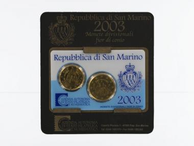 San Marino KMS Minikit, 2003 im Blister