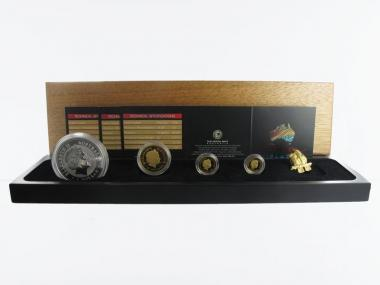 Australien Gold Discover Kookaburra 3-Coin-Set, 2006  PP