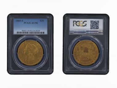 USA 20 Dollars Gold Eagle/Kopf 1885 S