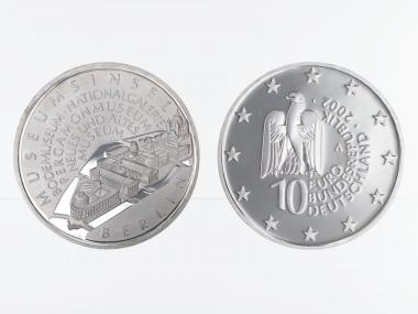 Museumsinsel Berlin 10 € 2002 Silber, PP