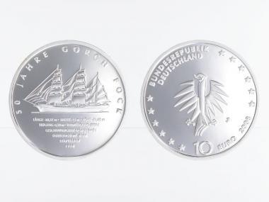 Gorch Fock II 10 € Silber, PP