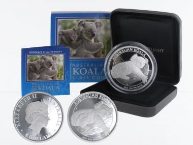 Australien 8 $ Koala 2012,  PP  Box + CoA