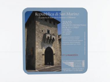 San Marino KMS, 2005 im Minikit, Folder