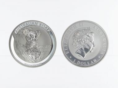 Australien 1$ Koala 2015, 1 Unze  Silber