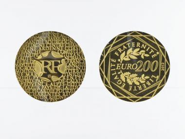 Frankreich 200 Euro Gold, 2012, Regionen