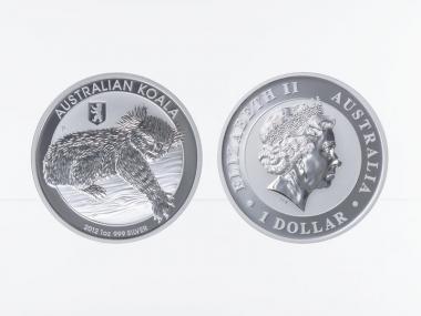 Australien 1$ Koala 2012, Privy Mark Berlin