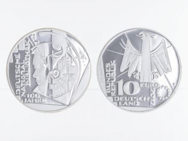 Nationalbibliothek 10 € Silber 2012, PP