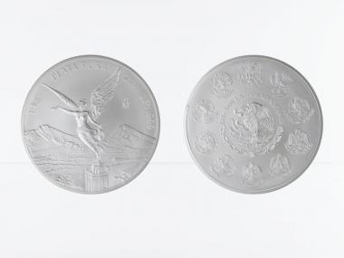 Mexiko Libertad, 2011 , 1 Kilo Kg  Silber