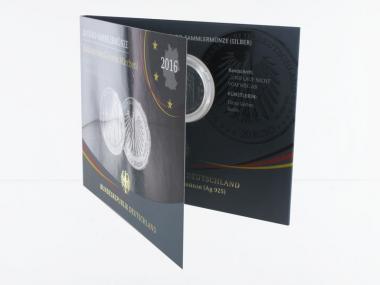 20 € Grimms Märchen Rotkäppchen  Silber 2016, Blister PP