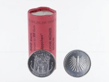 20 € Grimms Märchen Rotkäppchen  Silber 2016 (25)