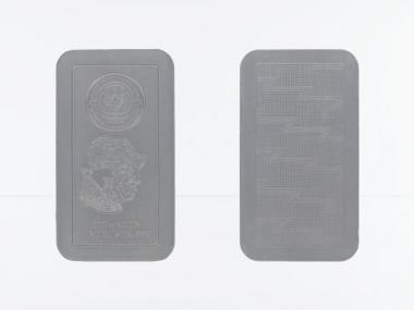 Ruanda Münzbarren Gepard 2013. 1 Kg Silber