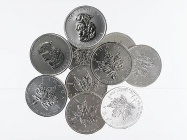 Kanada 5$ Maple Leaf 2012, Privy Mark Pisa (10)