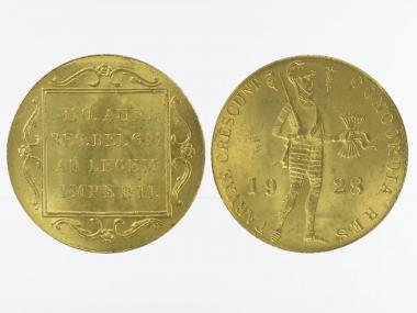 Niederlande 1 Golddukat 1928