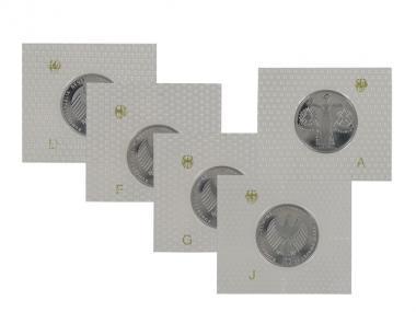 EXPO 2000 2000 (5), 10 DM Silber, PP Folie kpl.