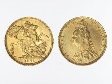 Victoria Jubilee/Reiter 1891 S