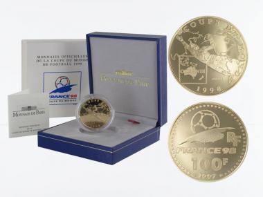 Frankreich 100 Fr Fußball-WM 1998, Ozeanien, 1997