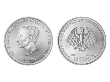 20 € 300. Geburtstag J. Winkelmann 2017