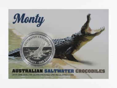 Saltwater Crocodile (RAM), Monty 2016 Blister