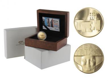 Niederlande 10 Euro Gold, 2012, Bildhauerkunst,