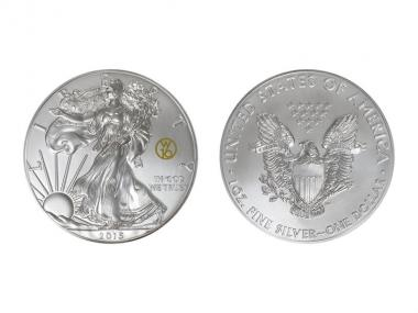 USA  1 $ Silver Eagle  2015, privy W16, 1 oz