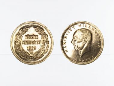 Türkei 100 Kurush Atatürk 2001 (1923/78)