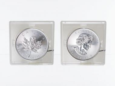 Kanada 5$ Maple Leaf 2015, Privy Mark  F15