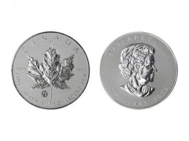 Kanada 5$ Maple Leaf 2011, Privy Mark  F15