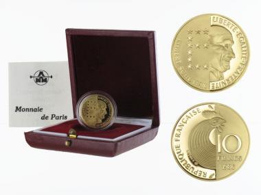 Frankreich 10 Fr  Robert Schumann 1986, PP