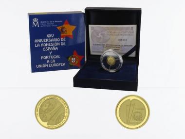 Spanien 20 Euro Gold, 2011, Europäische Union
