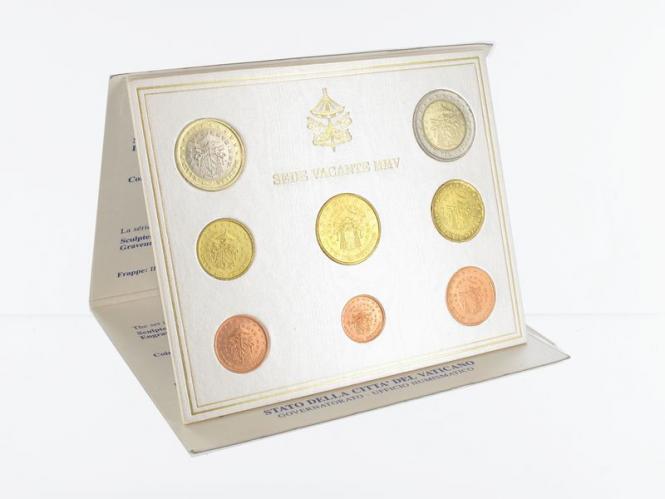 Vatikan original KMS, 2005 Stgl., Sede Vacante