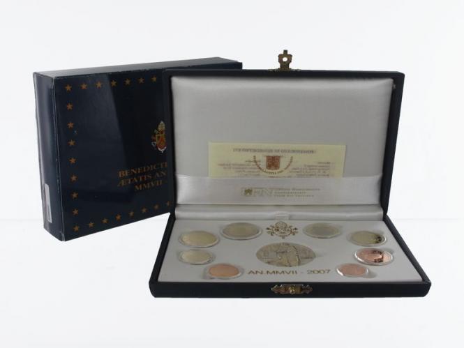 Vatikan original KMS, 2007 PP, Polierte Platte