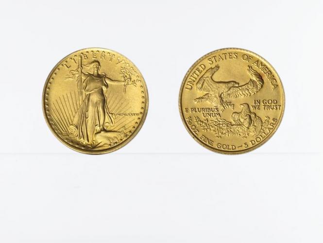 USA 5 Dollar 1/10 oz American Gold Eagle