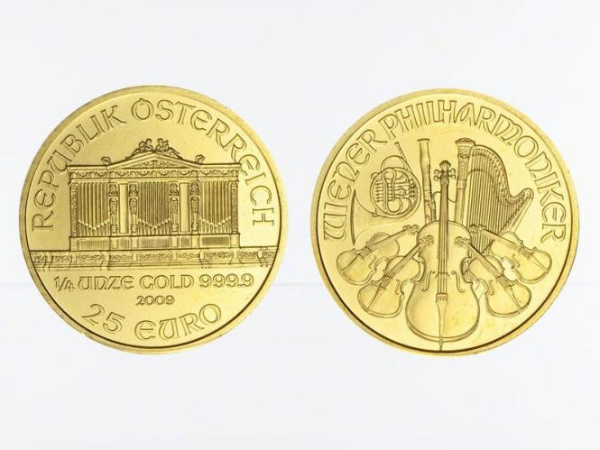 Österreich 1/4 oz Wiener Philharmoniker versch. Jhrg.