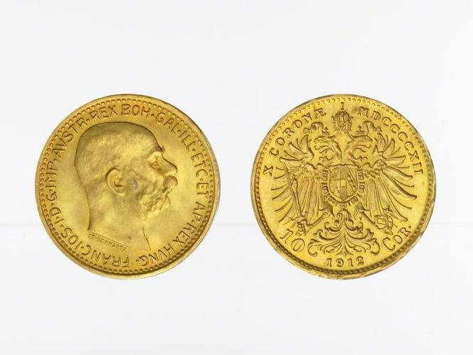 Österreich 10  Kronen 1912 (St. Schwartz)