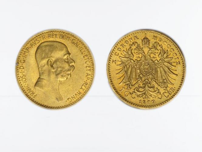 Österreich 10  Kronen 1909 (ohne St. Schwartz)