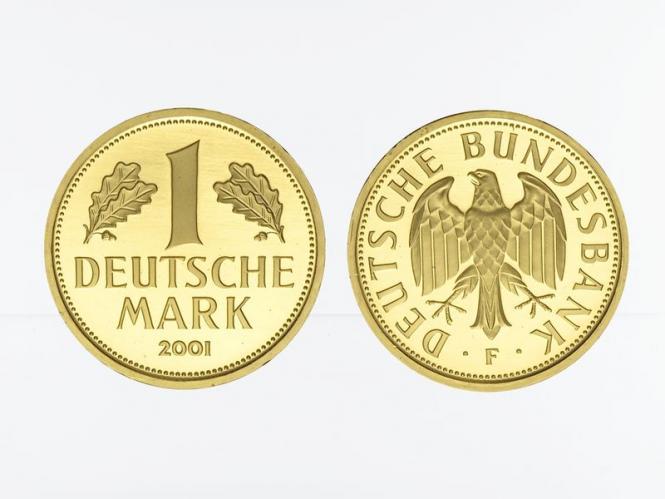1 DM Goldmark 2001 D, Goldmark original