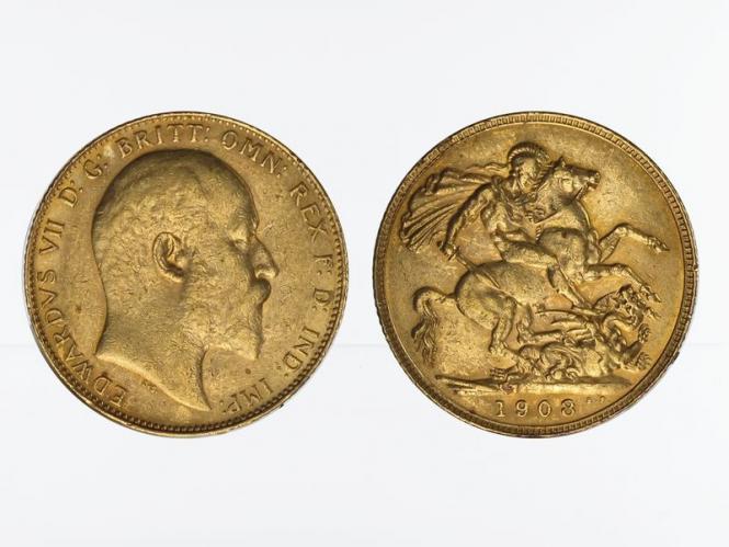 Edward VII/Reiter 1908