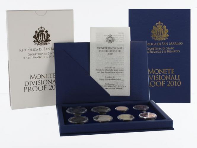 San Marino KMS, 2010 PP, Polierte Platte