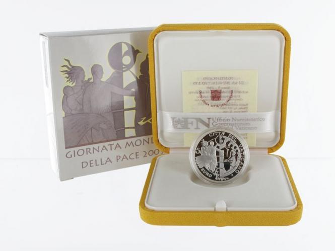 Vatikan 5 € Weltjugendtag 2009 PP, Silber