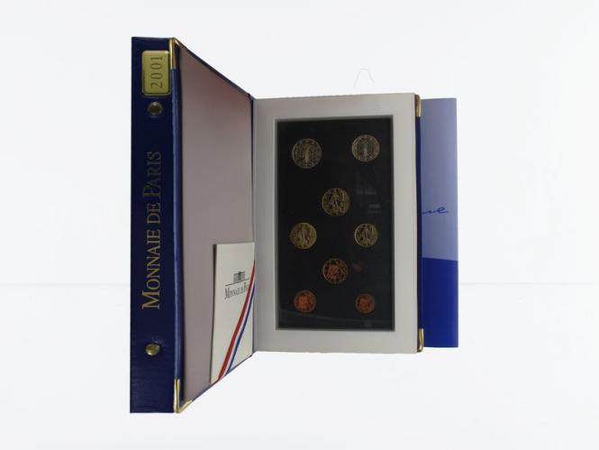 Frankreich original KMS, 2001 PP, Polierte Platte