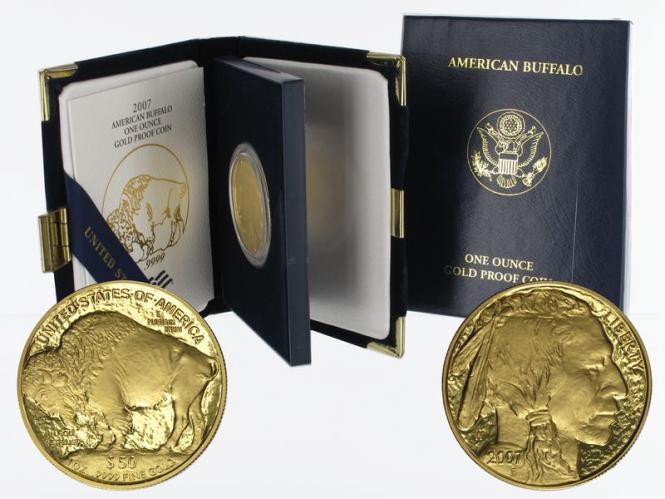 USA 50 Dollars 1 oz American Buffalo 2007 proof