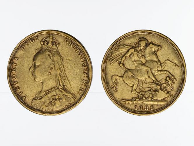 Victoria Jubilee/Reiter 1888 M (Melbourne Australien)