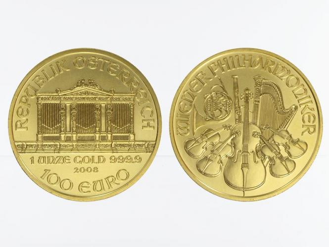 Österreich 100 Euro 1 oz Wiener Philharmoniker