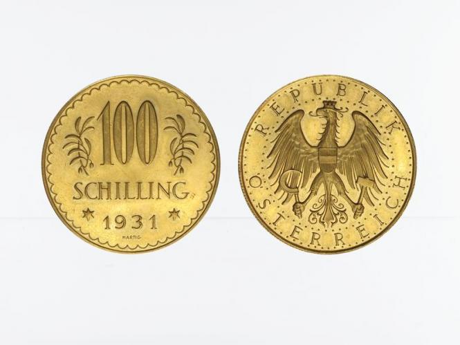 Österreich 1. Republik 100  Schilling  1931